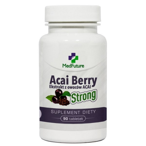 Acai Berry Strong - ekstrakt z jagód acai - 90 tabletek