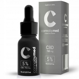 Olejek konopny CBD 5% GOLD 750 mg, 15 ml